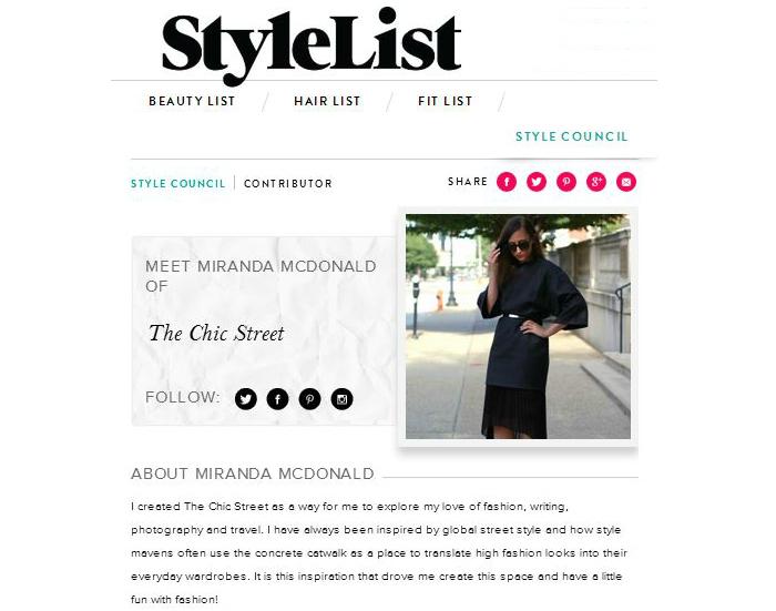 stylelist profile