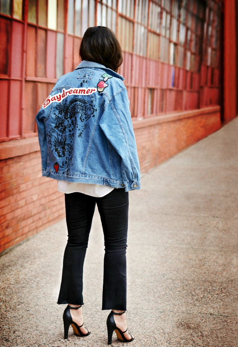 patch denim style trend