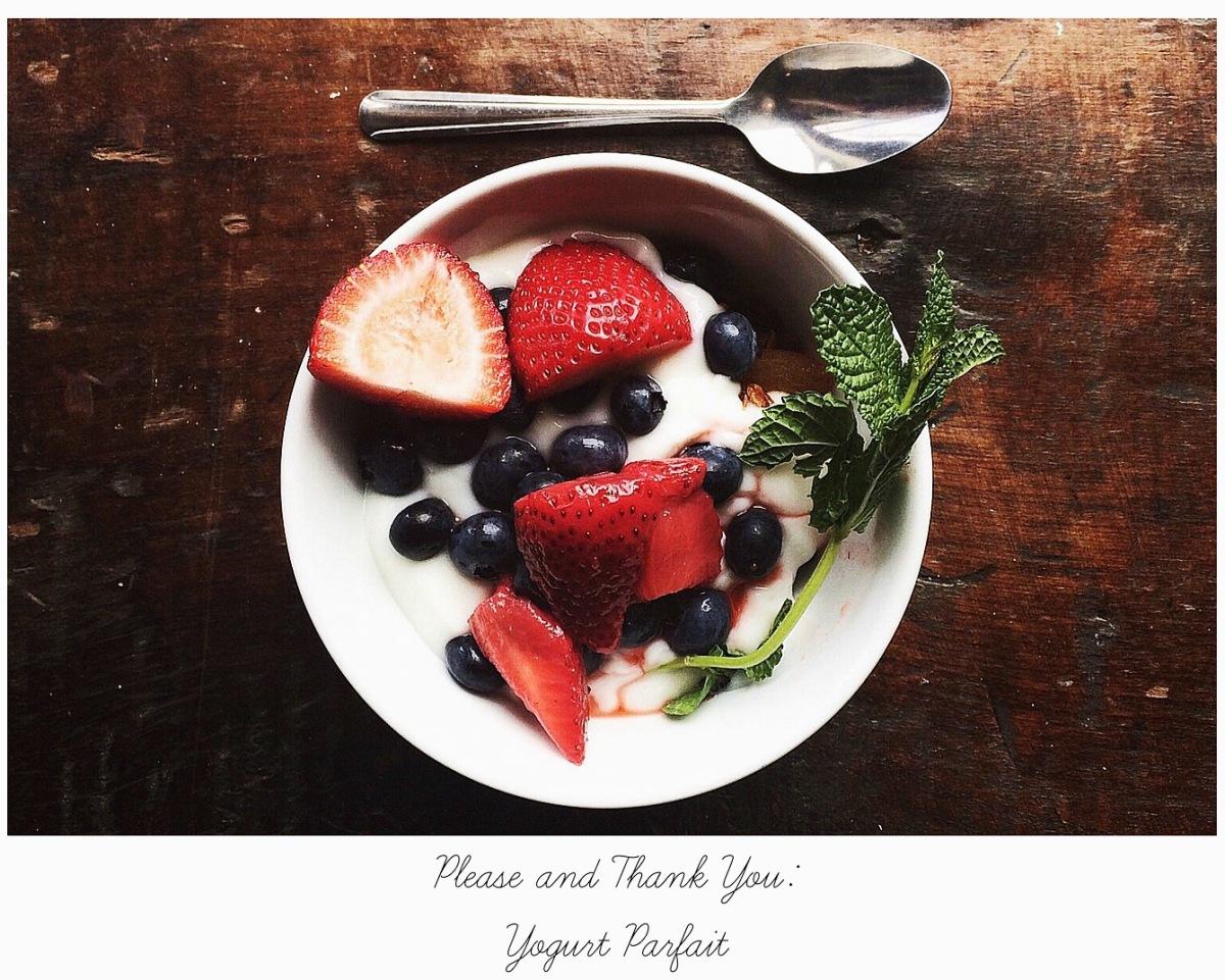 please and thank you yogurt parfait