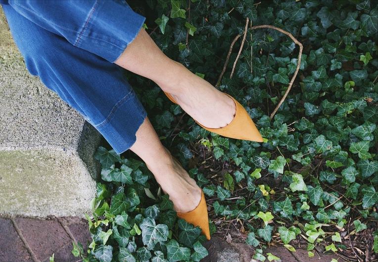 slingback shoe trend