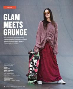 glam meets grunge