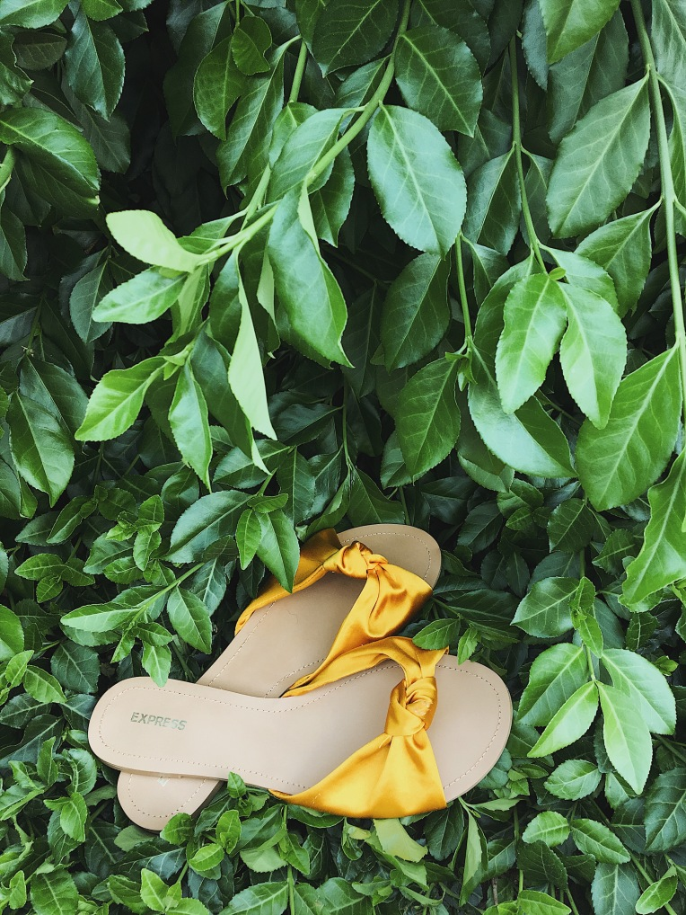 knotted sandal trend summer 2018